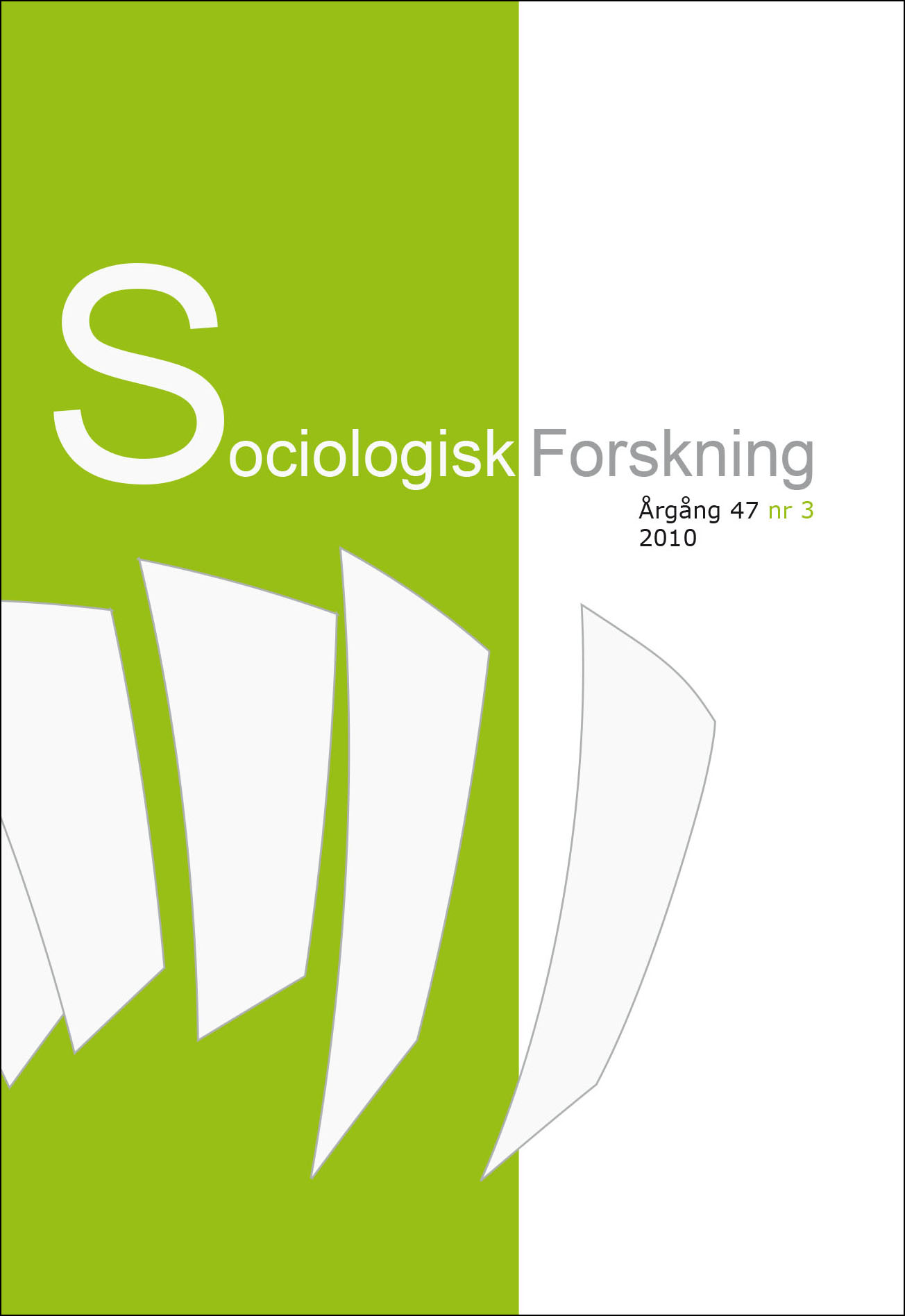 Visa Vol 47 Nr 3 (2010)