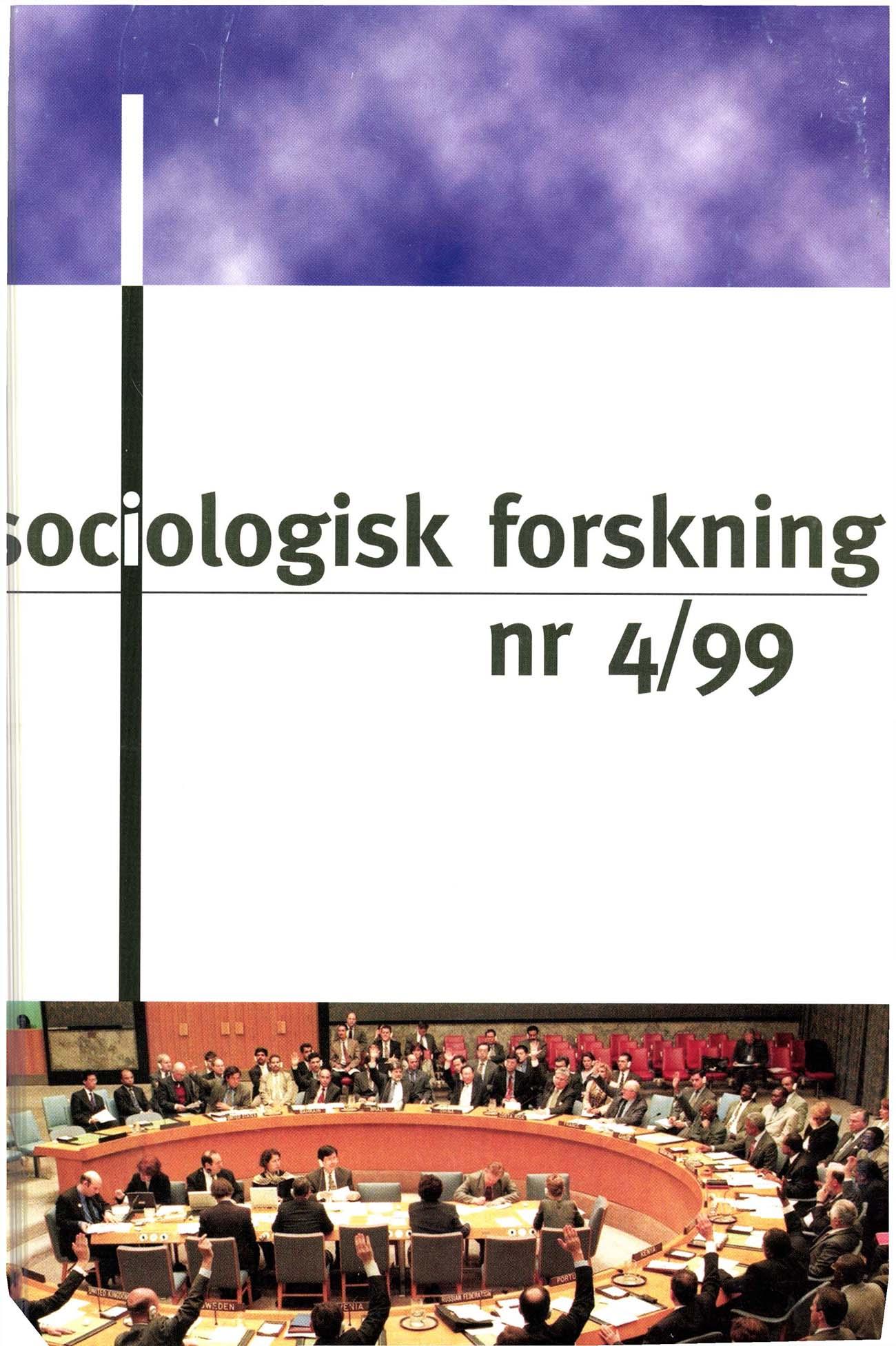 Visa Vol 36 Nr 4 (1999)