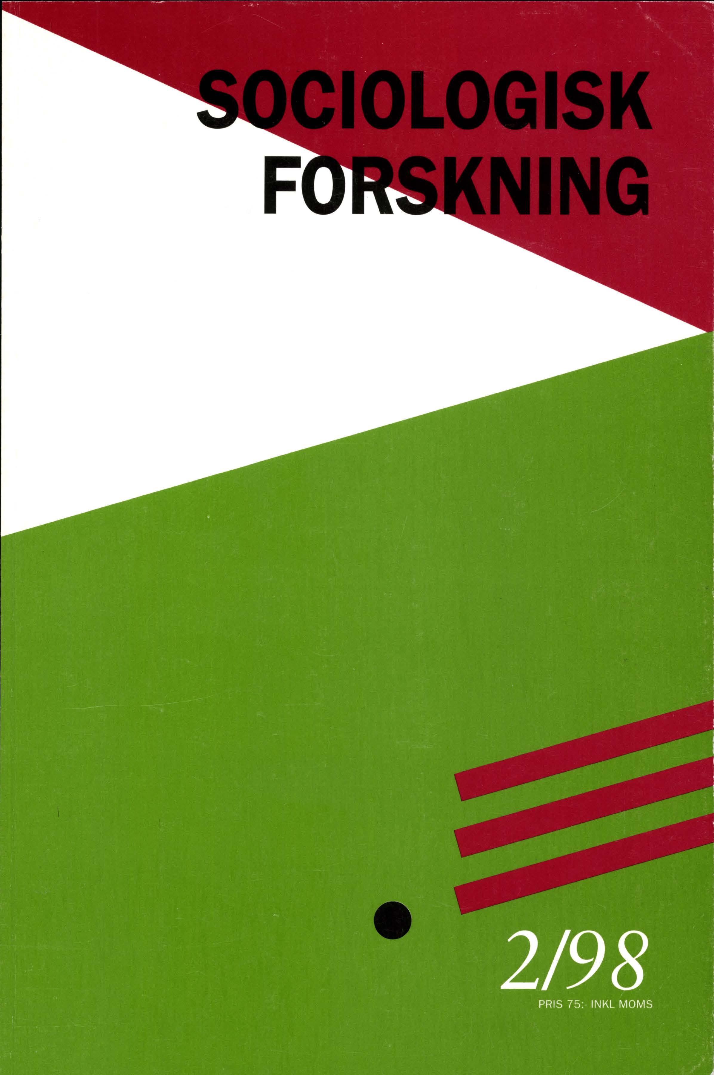 Visa Vol 35 Nr 2 (1998)