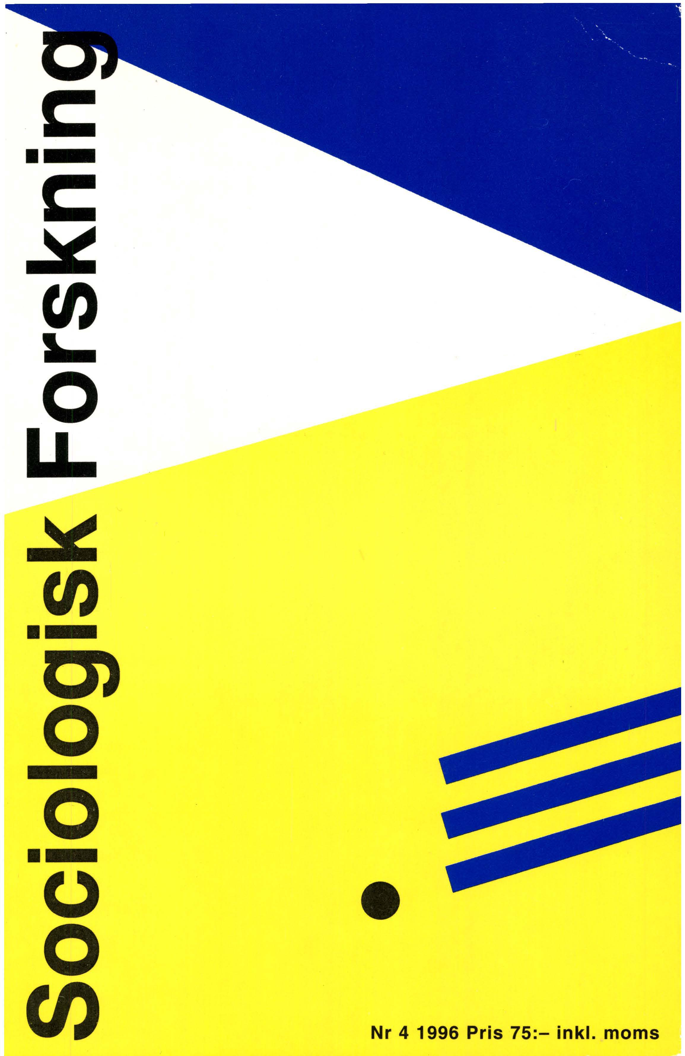 Visa Vol 33 Nr 4 (1996)