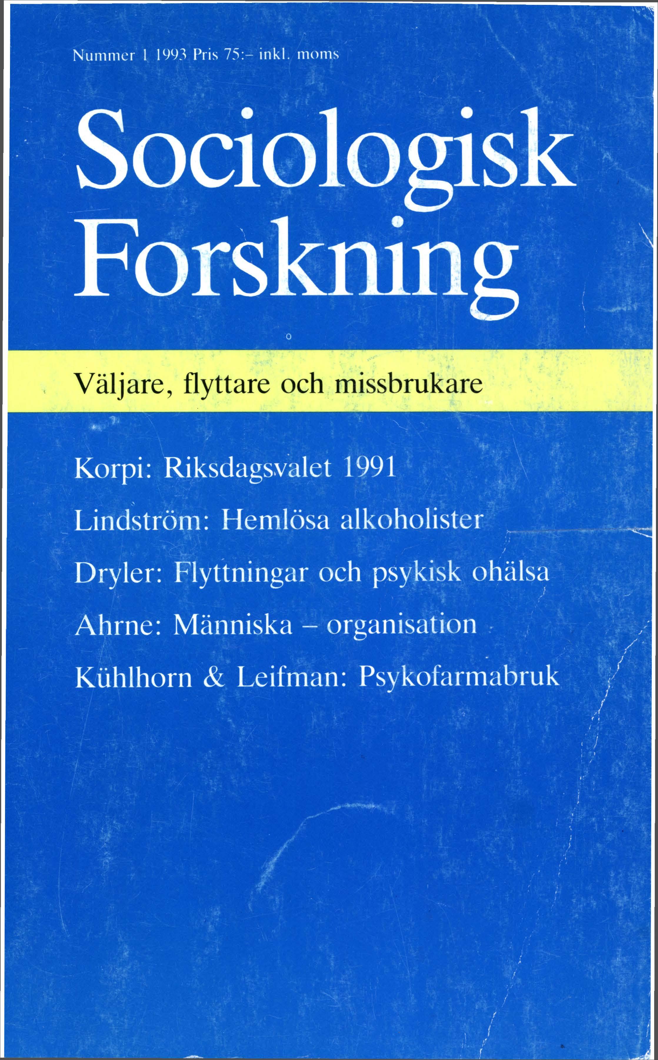 Visa Vol 30 Nr 1 (1993)