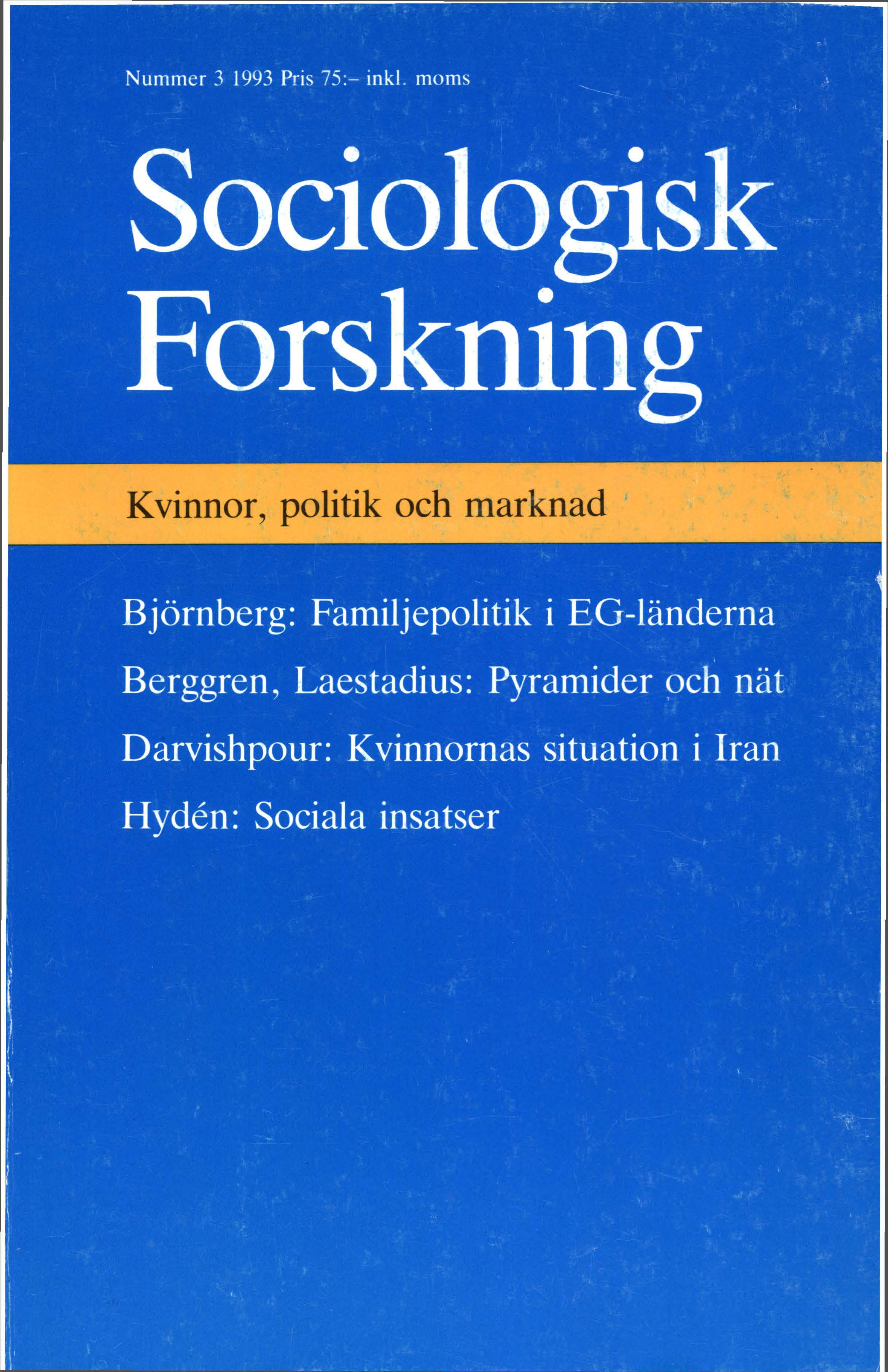 Visa Vol 30 Nr 3 (1993)