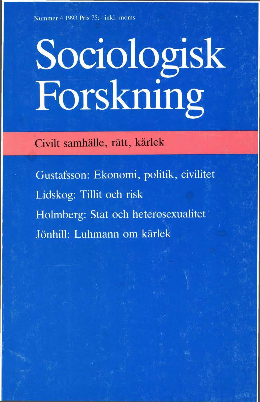 Visa Vol 30 Nr 4 (1993)