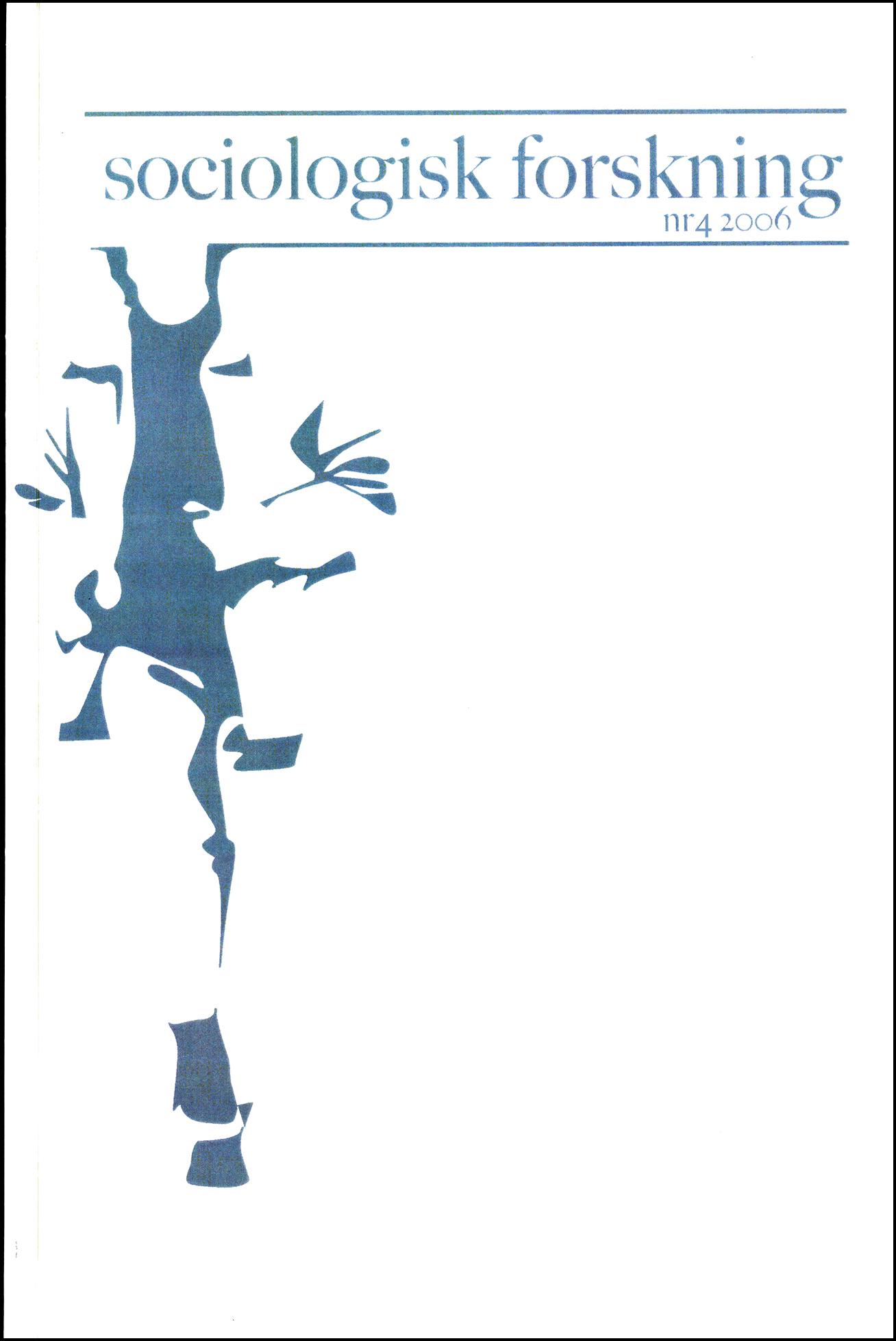 Visa Vol 43 Nr 4 (2006)