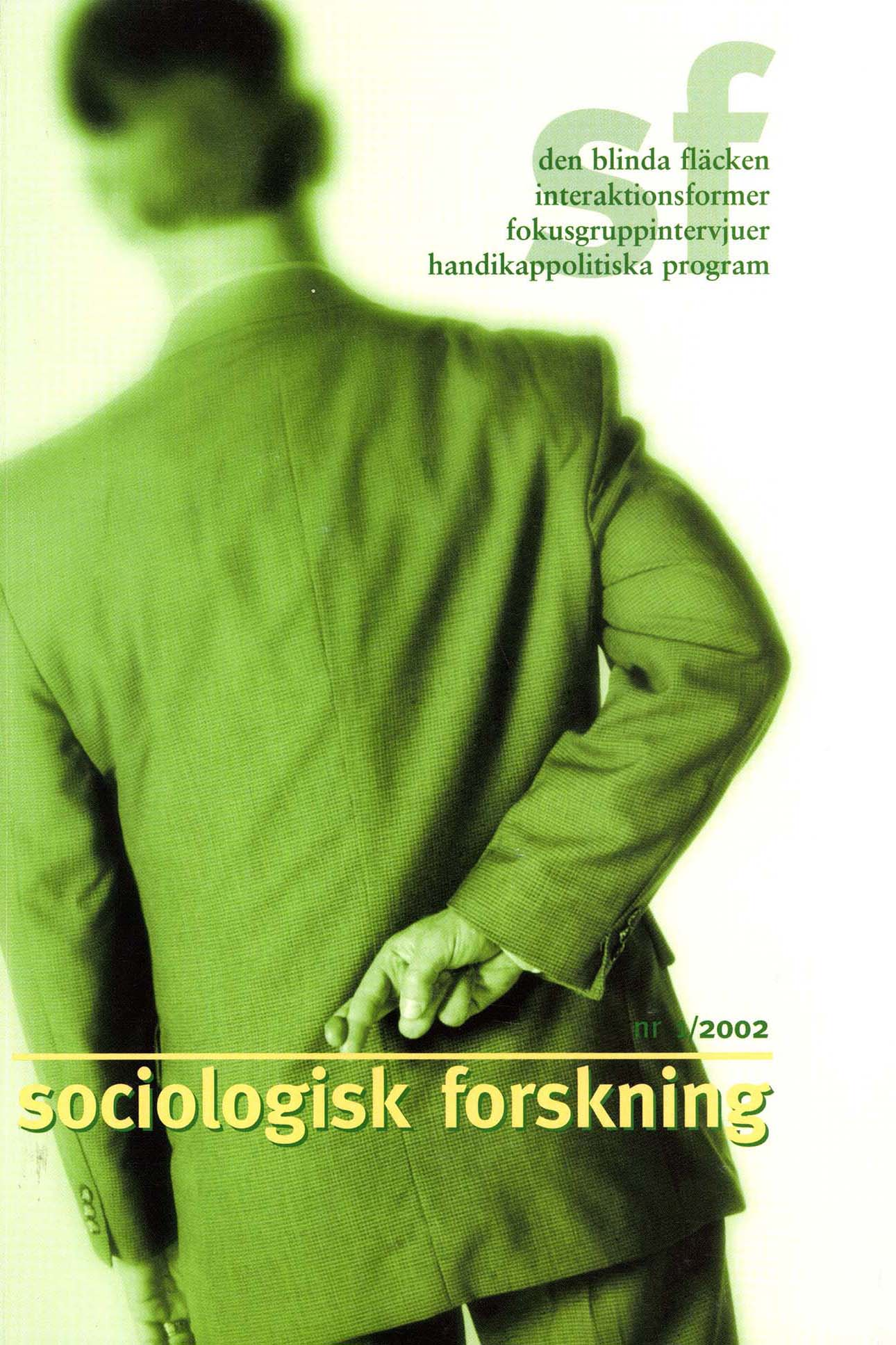 Visa Vol 39 Nr 1 (2002)