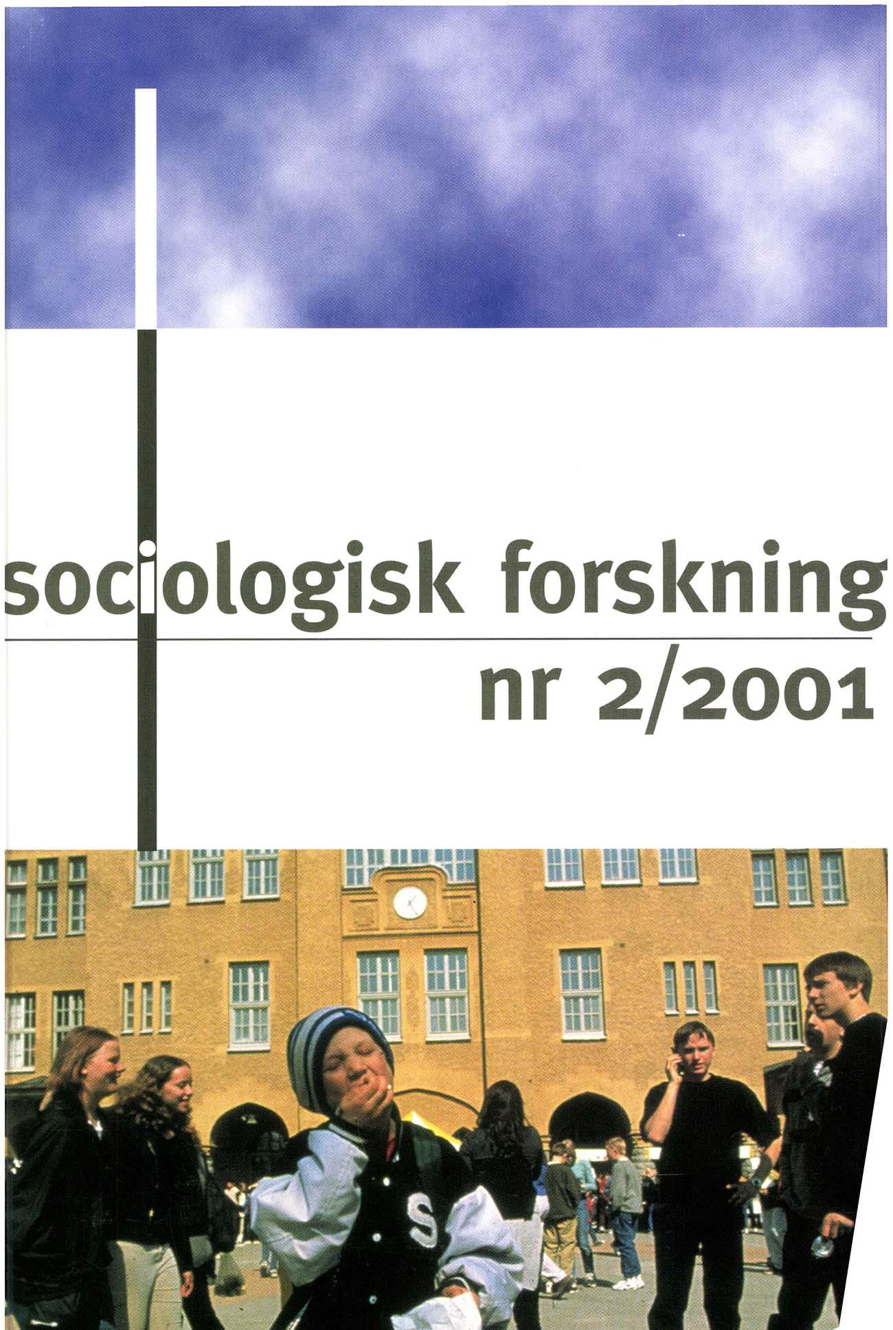 Visa Vol 38 Nr 2 (2001)
