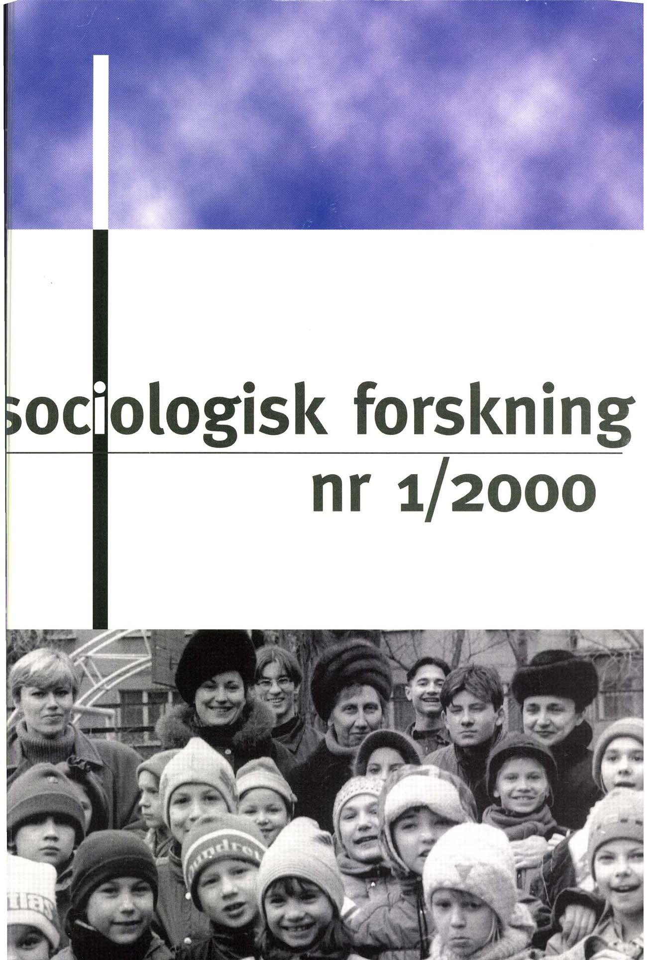 Visa Vol 37 Nr 1 (2000)