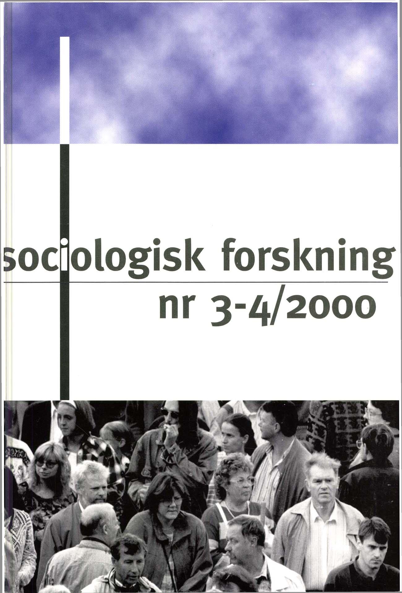 Visa Vol 37 Nr 3-4 (2000)
